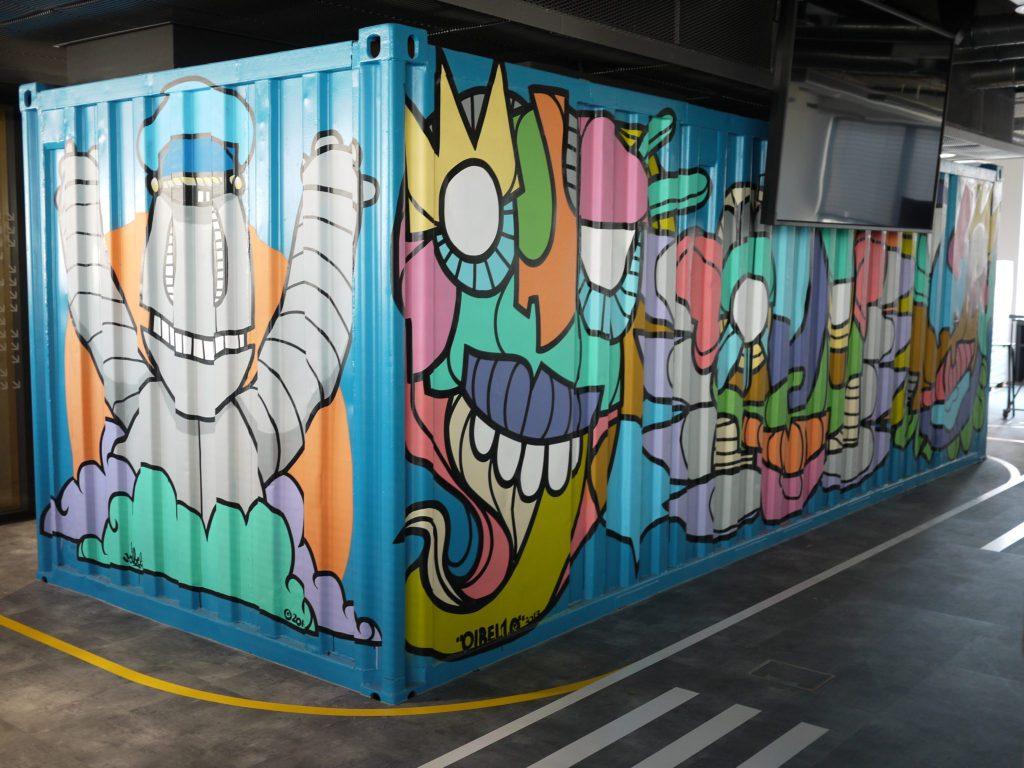 Container corner Concur