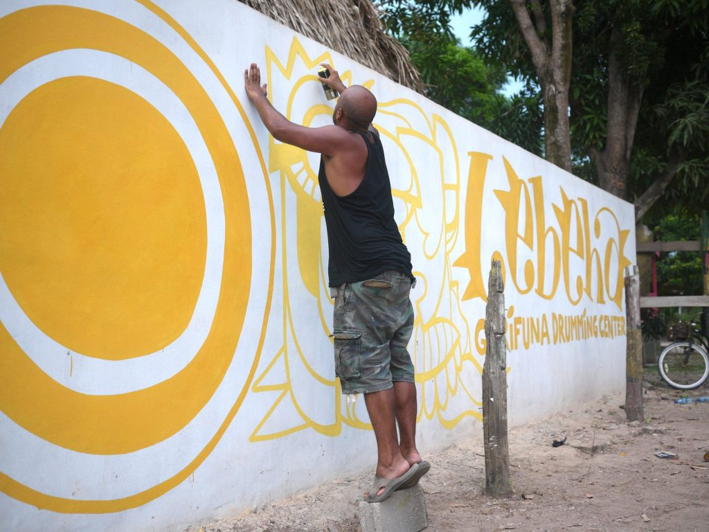 Making of Lebeha Wall