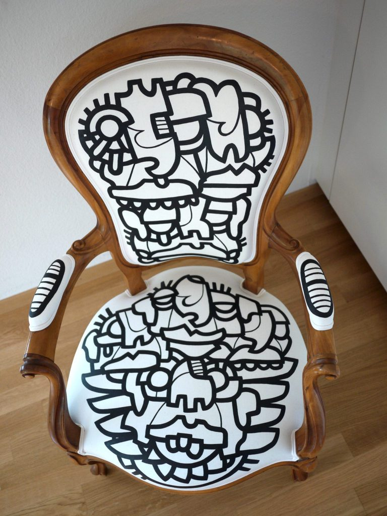 Customized Louis 15 Chair top