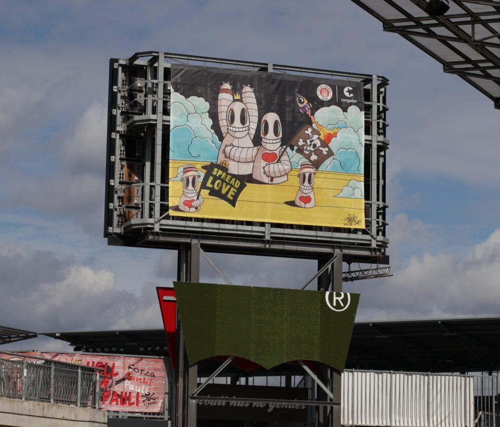 Oibel Art St. Pauli Banner
